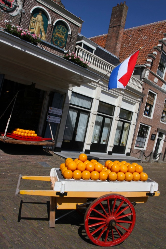 Cheese or munitions? Edam, Netherlands