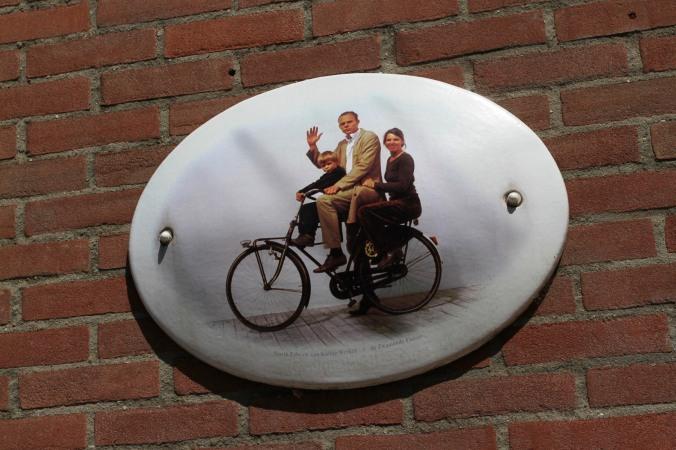 House sign, Amsterdam, Netherlands
