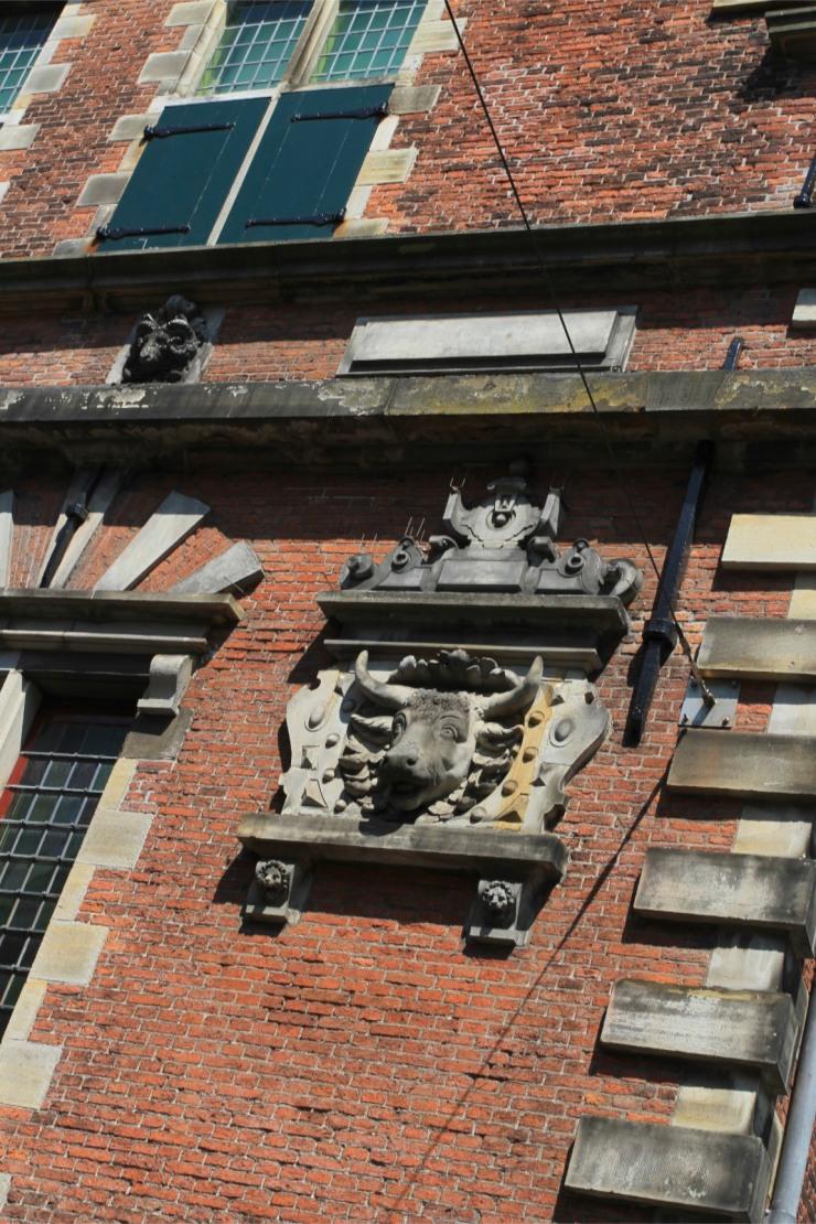 Old meat hall, Haarlem, Netherlands