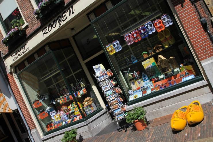 Tourist shop, Haarlem, Netherlands