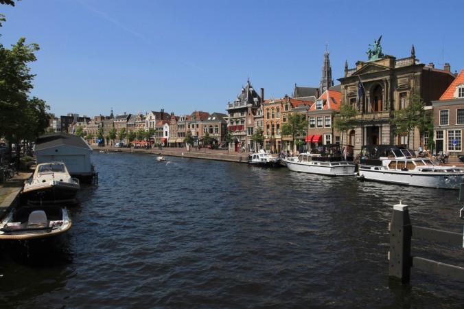 Spaarne River, Haarlem, Netherlands