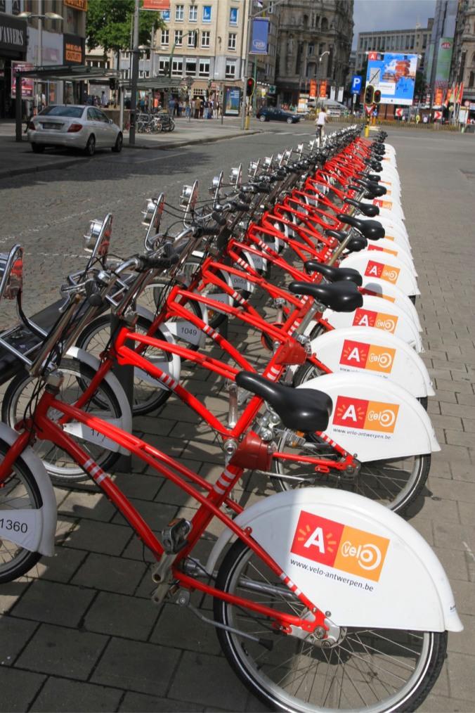 Bikes, Antwerp, Belgium