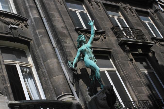 Statue, Antwerp, Belgium