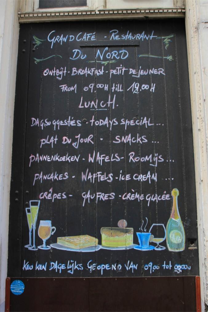 Cafe, Antwerp, Belgium