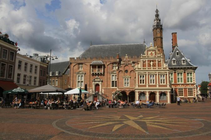 Town Hall, Grote Markt, Haarlem, Netherlands