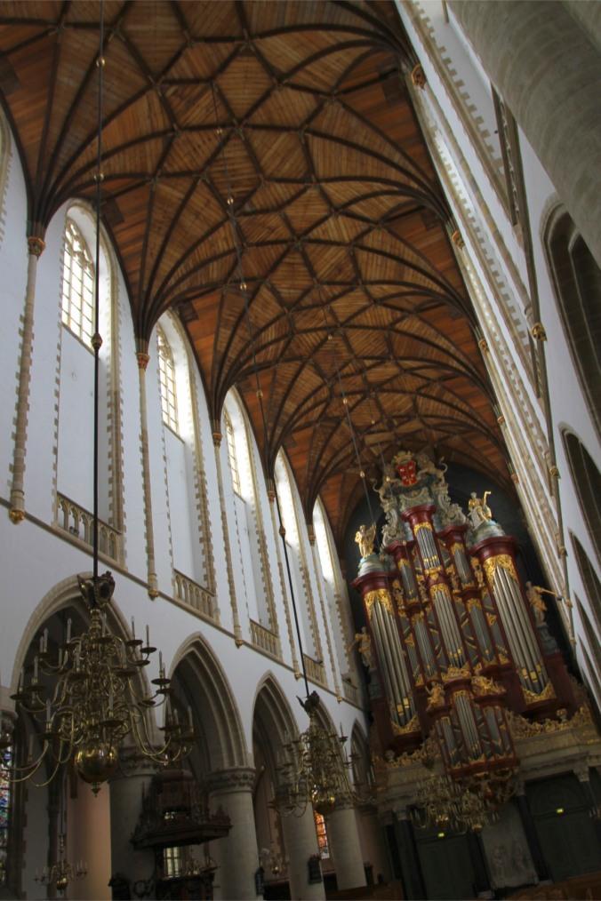 Muller organ, Grote Kerk, Haarlem, Netherlands