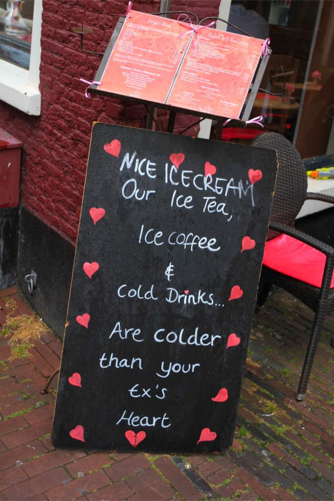 As cold as your Ex's heart, Haarlem, Netherlands
