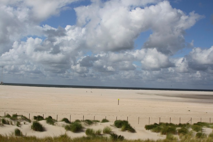 North Coast Cycle route, Netherlands