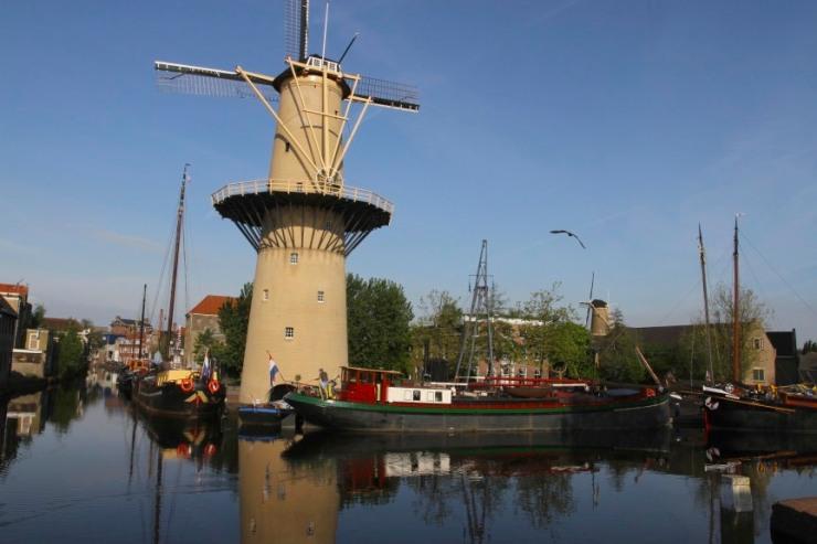 Windmills, Schiedam, Netherlands