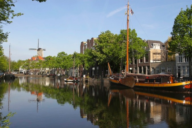 Old harbour, Schiedam, Netherlands