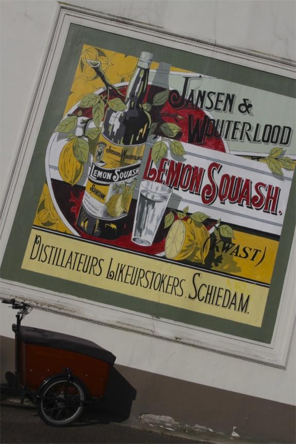 Advertisement, Schiedam, Netherlands