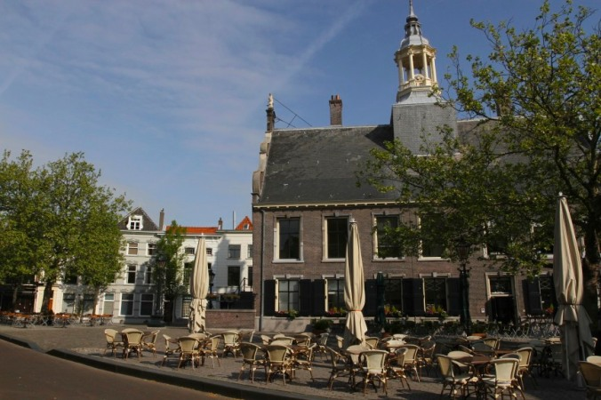 The centre of Sheidam, Schiedam, Netherlands