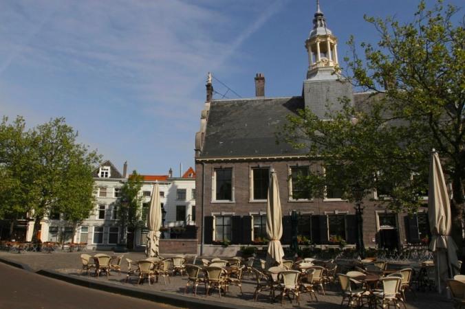 The centre of Sheidam, Schiedam, Netherlands