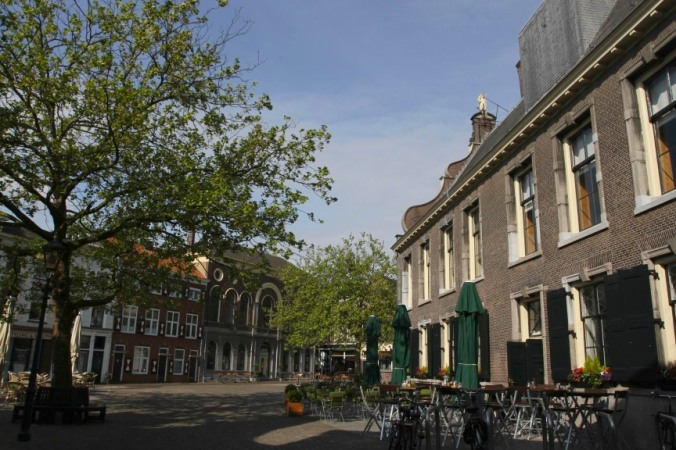 Main square, Schiedam, Netherlands