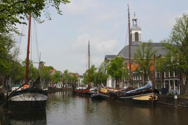 Main canal, Schiedam, Netherlands