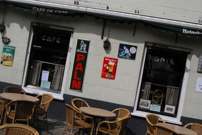 A bar in Schiedam, Netherlands
