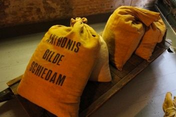 Sacks of Grain, the Jenever Museum, Schiedam, Netherlands