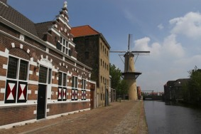 Tallest windmills in the world at Schiedam, Netherlands