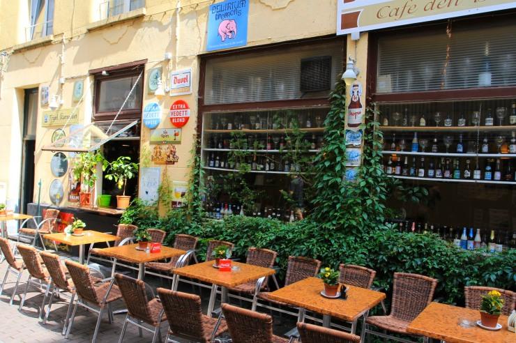 Belgian beer cafe, Antwerp, Belgium