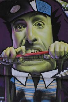 Street art in Antwerp, Belgium