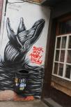 Socially irresponsible street art in Ghent, Belgium