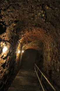 Wine cellars, Sint Pietersabdij, Ghent, Belgium