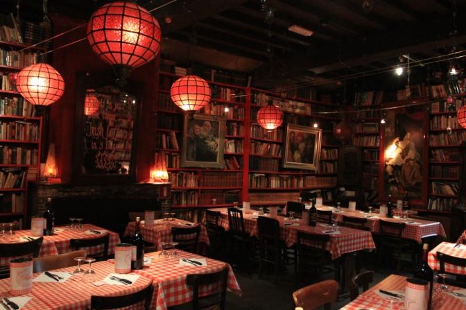Nighttime restaurant, Ghent, Belgium