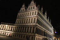 Ghent Stadhuis at night, Belgium