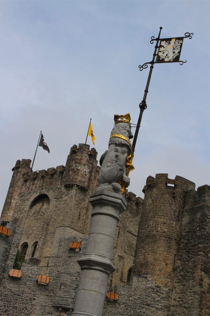 The Castle of Gravensteen, Ghent, Belgium