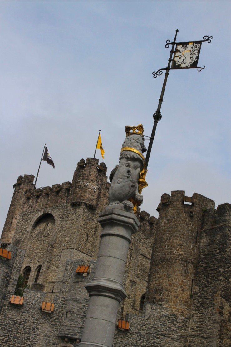 The Castle of Gravensteen, Ghent, Belgium