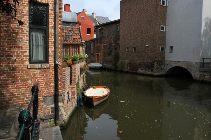 Canals, Ghent, Belgium