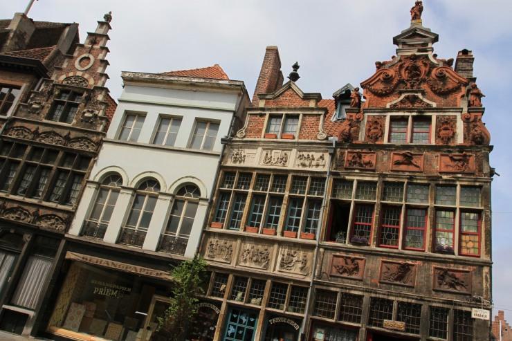 Patershol, Ghent, Belgium