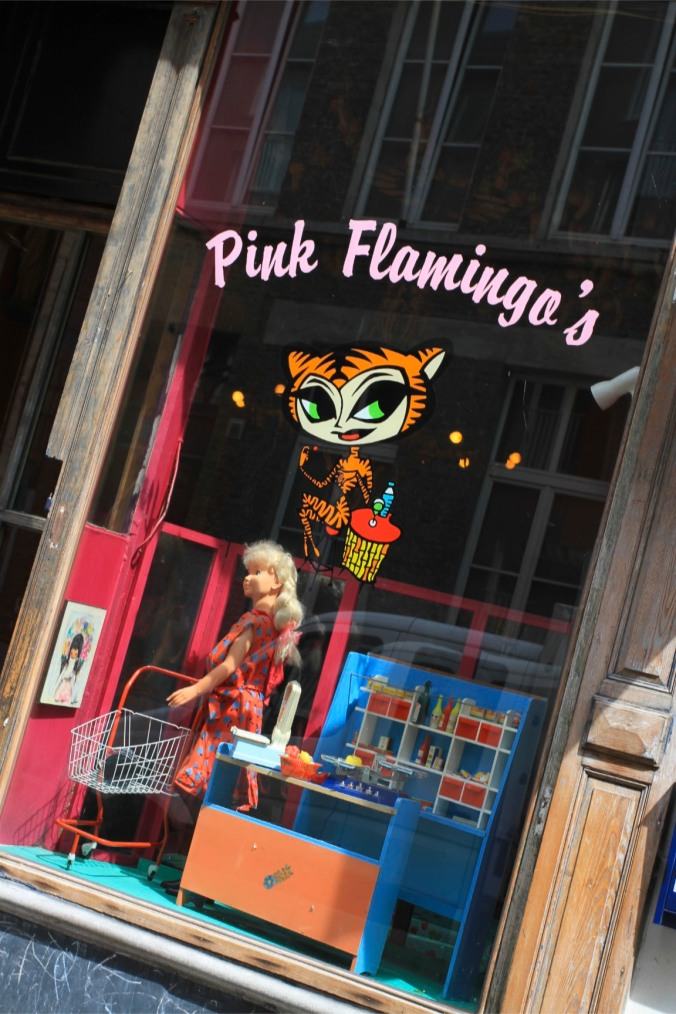 Pink Flamingos Bar, Ghent, Belgium