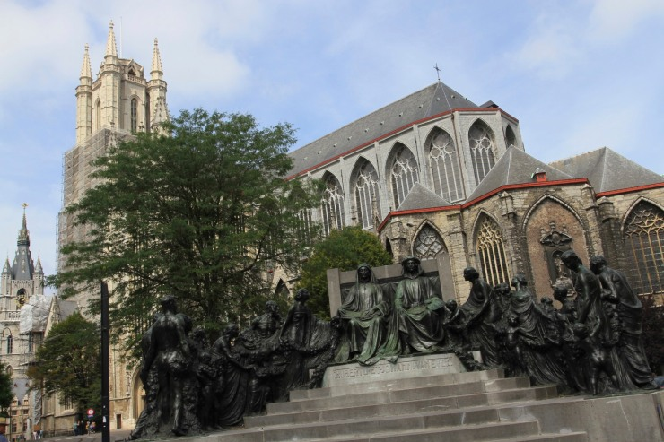 St Bavo's Cathedral, Ghent, Belgium