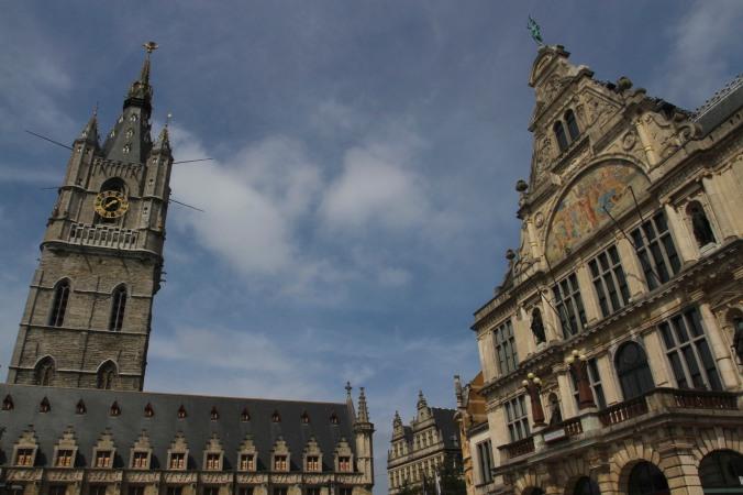 St. Nicholas' Church, Ghent, Belgium
