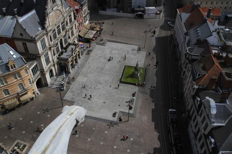 View from the Belfry, Ghent, Belgium