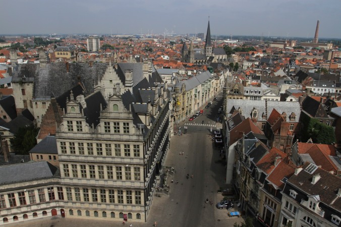 View from the Belfry, Ghent, Belgium