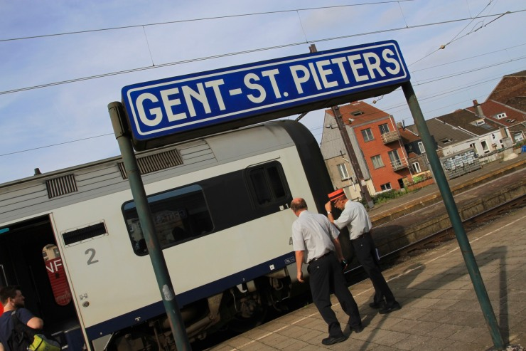 St. Pieters station, Ghent, Belgium