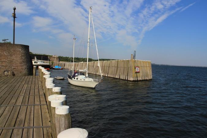 Veere harbour, Zeeland, Netherlands