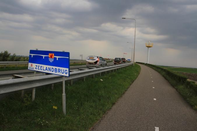 The Zeeland Bridge, Zierikzee, Zeeland, Netherlands