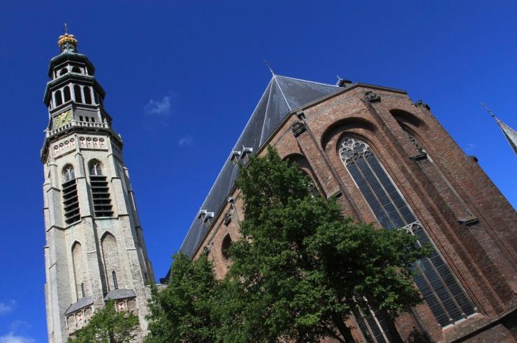 Lange Jan and Middelburg Cathedral, Netherlands