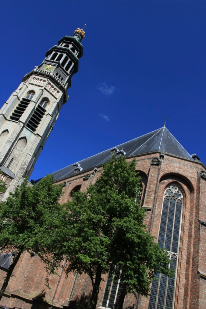 The Cathedral, Middelburg, Zeeland, Netherlands