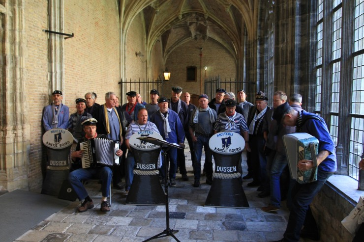 Choir, Middelburg Cathedral, Netherlands