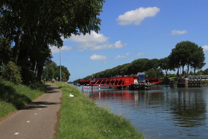 Cycling in Zeeland, Netherlands