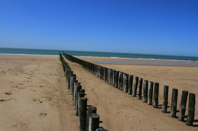 Beaches in Zeeland, Netherlands