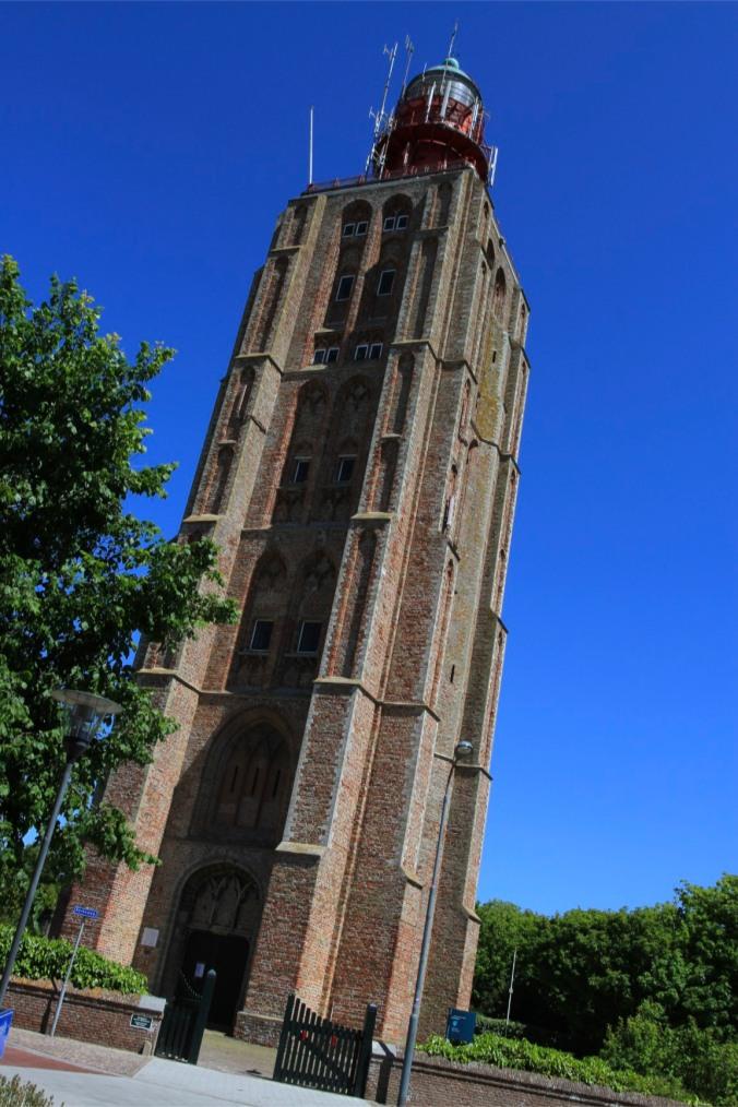 Historic lighthouse, Westkapelle, Zeeland, Netherlands