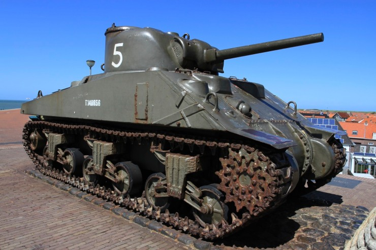 World War II memorial, Westkapelle, Zeeland, Netherlands