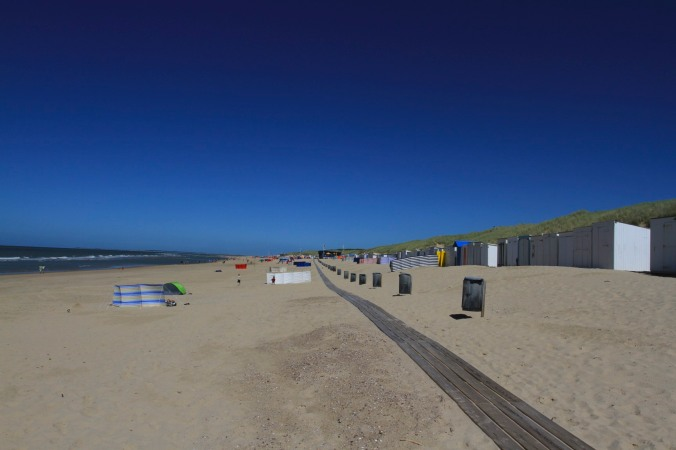 Beaches in Zeeland, Netherlands