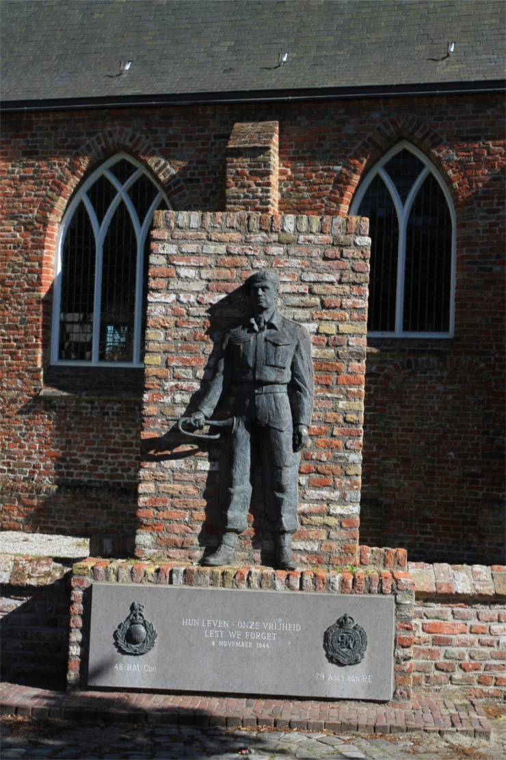 World War II memorial, Zeeland, Netherlands
