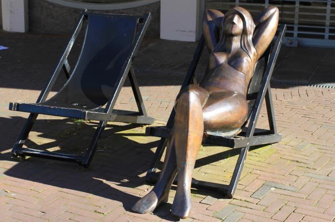 Statue in Middelburg, Zeeland, Netherlands